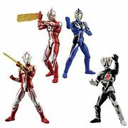 Chodo Ultraman 6 10 Pieces Candy Toys And Gum Ultraman From Japan [f3f]