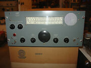 Crosby 166 Ssb Hf Receiver Made For Harbor Bay Fur Trading Co. W Collins Filter