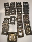 Vintage American Tach And Hardware Light Switch Plate Outlet Covers Lot Of 33