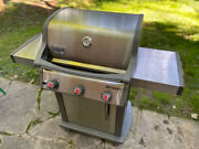 Weber Spirit Sp-310 Grill With Cover Stainless Grates