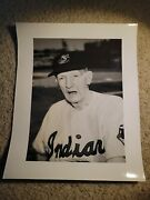 1950's Cy Young Cleveland Indians Press Photo Rare Beauty Hof