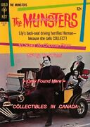 The Munsters 1965 Coach Car Tv Show = Poster Comic Book 10 Sizes 18 - 5 Feet