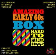 Various Artists - Amazing Early 60s Box 88 Hard-to-find Hits / Various [used Ve