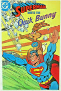 Superman Meets The Quik Bunny 1987 Nestles Giveaway Promotional Comic Infantino