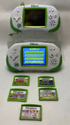 Lot Of 2 Leapfrog Leapster Explorer Console Learning Game System White W/ Games