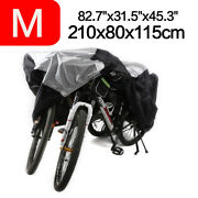 Waterproof L Bicycle Cover Bike Cycle Rain Dust Outdoor Uv Protector For 3 Bikes