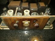 Atwater Kent 55 C Tube Radio Chassis, 1929, Powers On Tubes Light