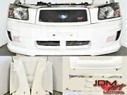 Used Subaru Forester Sg9 Sti White Front End With Bumpers Fenders Etc.