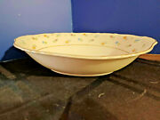 Syracuse China Federal Suzanne Pattern 9 Inch Oval Vegetable Dish Circa 1950-60