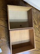 Singer Drawers X 2 Sewing Machine Cabinet Tray Insert For 65 Cabinet