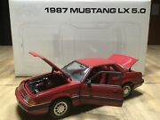 Gmp/acme Ford Mustang 118 Diecast 1987 87 Mustang Lx Coupe Notchback