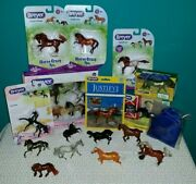 Nib/used Breyer Stablemates-lot Of 22-no Duplication Blind Bags, Horse Crazy