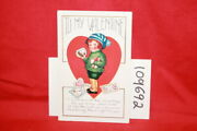 Child Holding Presents And ... Valentines Day Postcard