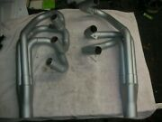 Corvair Custom Headers 1 3/8 Into 1 1/2 Inch With Angle Exhaust Easily Modified