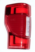 2020 2021 Ford F-250-350 Led Tail Lights With Blind Spot Module Oem