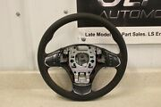 2012 C6 Corvette Centennial Edition Suede Steering Wheel Red Stitch Switches Gm