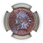 1888 Ms65 Bn Ngc Indian Head Penny Premium Quality Superb Eye-appeal