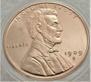 Lincoln Penny 1909s Vdb1 Oz .999 Copper Roundfactory 2nd Ships In Coin Flip