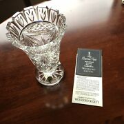 Waterford Crystal Penrose Vase - 1995 - Signed By Roy Cunningham