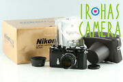 Nikon S3 Limited Edition Black + Nikkor-s 50mm F/1.4 Lens With Box 35492l4