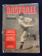 Vintage 1941 Street And Smith's Baseball Yearbook Bob Feller Indians  M1658