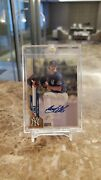 Gerrit Cole Topps Chrome Gold Refractor Auto 1/1 Mint New York Yankees