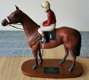 Red Rum Beswick Antique Horse And Rider