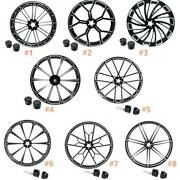 23and039and039 X 3.5and039and039 Front Wheel Rim Hub Single/dual Disc Fit For Harley Road King 08-21