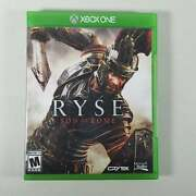 Ryse Son Of Rome Xbox One Video Game 2013 Rated Mature