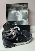 On Cloud Flyer Women Shoes Black/white Size 7 Free Shipping