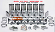 Engine Rebuild Kit - Fits Ford 8000 Series 6cyl Diesel - Tractor Ag Industrial