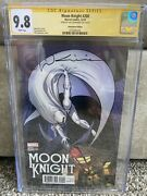Moon Knight 200 Cgc Ss 9.8 1500 Signed Bill Sienkiewicz Remastered Variant