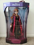 Disney Store 2019 November Frozen 2 Anna 17 Limited Edition Doll In Hand