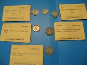 Indonesia Coins 1951 19701971 5 10 Sen 12510 Rupich By Littleton Stamp O55