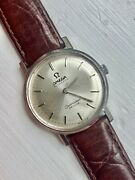 Omega Seamaster De Ville Vintage Automatic Mens Watch Circa 1960andrsquos Stainless