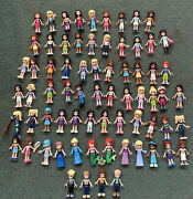 Lego Friends Minifigures 70 Minifigs With Pets And Accessories Lot