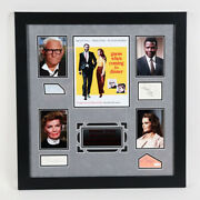 Guess Whoandrsquos Coming To Dinner Signed Photo Display Andndash Coa Jsa