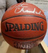 20 Off Limited Time Wilt Chamberlain Signed Basketball Spalding