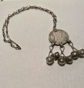 1780 Coin Austria Maria Theresa Silver Thaler Pendant W/ 20 Sterling Necklace