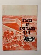 Stars Of Opryland Book - Autographed By Red Sovine Johnny Wright Kitty Wells