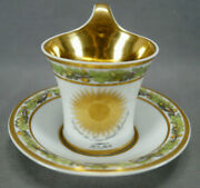 Kpm Berlin Wars Of Liberation Commemorative Empire Form Cup And Saucer C.1813-1814