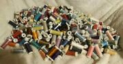 Mettler Lot Of 400 Spools Embroidery Thread 100m-150m-200m