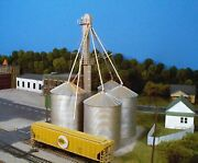 Rix Product Ho Scale No.6280407 Grain Elevatornew In Package