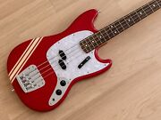 2010 Fender Competition Mustang Bass And03969 Vintage Reissue Candy Apple Red Japan