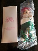 Holly 1999 Precious Moments Christmas Stocking Dolls 16 Limited Edition Qvc New