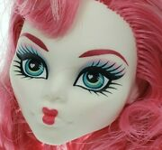 Monster High - C.a. Cupid - Sweet 1600 - Heart Lips Pink Hair Head Only