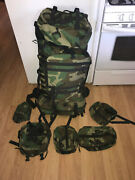 Gregory Um21 Spear System Ruck Woodland Camo Patrol Pack W 5 Xtra Pouches 0002
