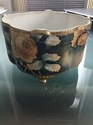 Nippon Ferner/ Footed Bowl. Hand Painted Circa 1930