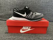Nike Flyknit Trainer Black And White. Size 9.5 2018 Retro Olympics Usa Running Htm