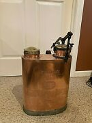 Vintage Copper Backpack Sprayer Plant Insecticide Lawn Bug 1950's